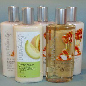 Ulta Beauty Body Lotion & Shower Gel Almond Melon